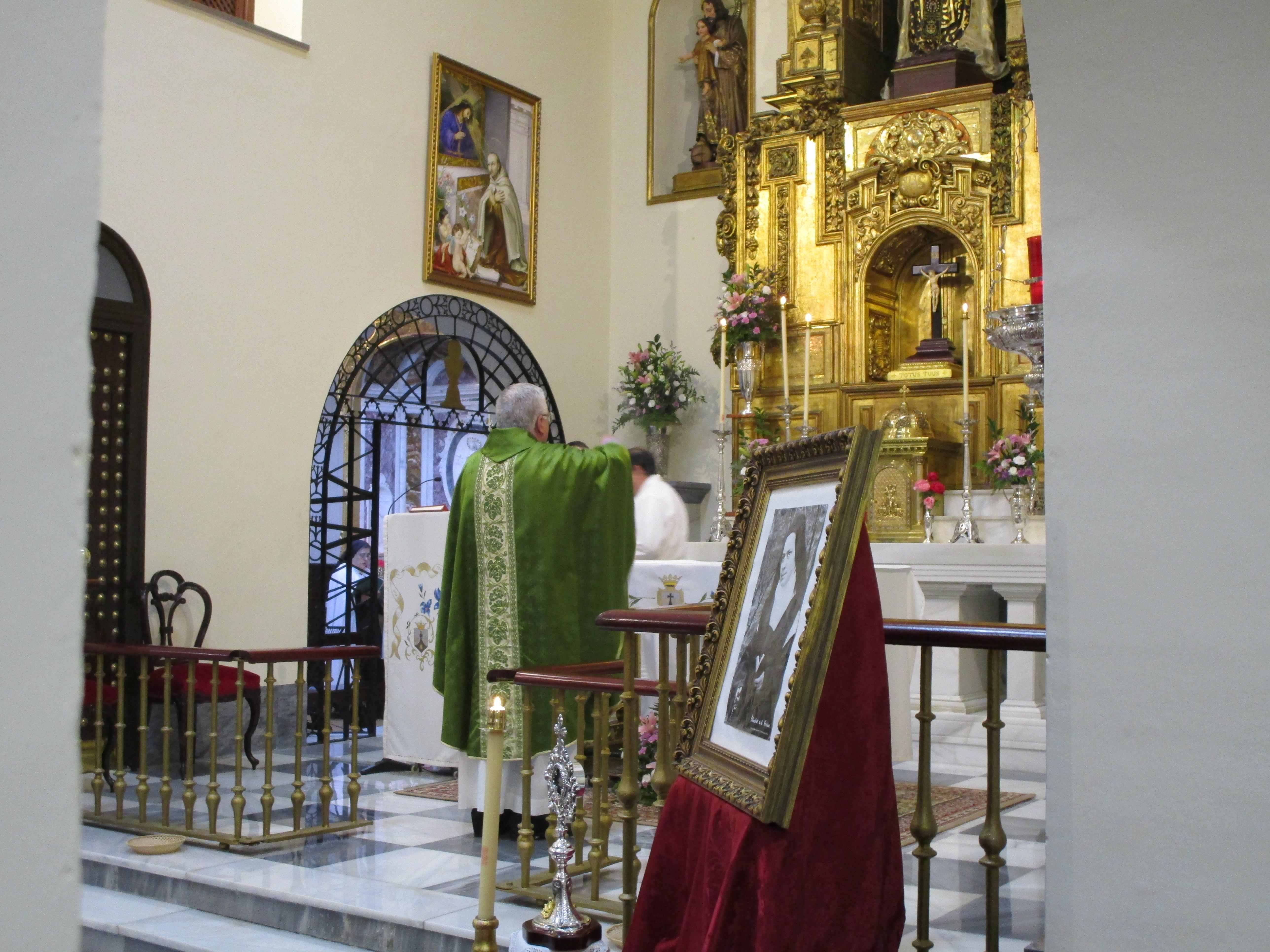 El Carmelo de Cádiz celebra la canonización de Isabel de la Trinidad